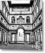 Uffizi Gallery In Florence Metal Print