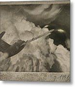Ufo-1951 Metal Print by Akos Kozari