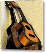 Ukes Metal Print by Everett Bowers