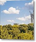Ukraine Motherland Statue  Metal Print