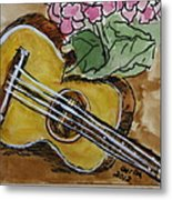 Ukulele One Metal Print