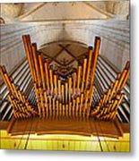 Ulm Pipe Organ Metal Print