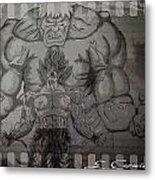 Ultimate Power Metal Print