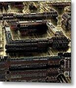 Ultra-urban Metal Print by Bernard MICHEL