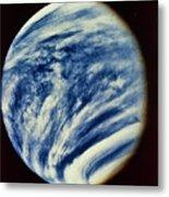 Ultraviolet Photo Taken By Mariner 10 Metal Print