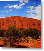 Uluru Central Australia Metal Print
