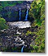 Umauma Falls I Metal Print