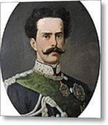 Umberto I Of Italy 1844-1900. King Metal Print