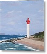 Umhlanga Lighthouse Durban Metal Print