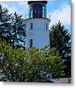 Umpqua River Lighthouse Metal Print
