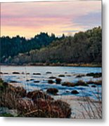 Umpqua Sunset Metal Print