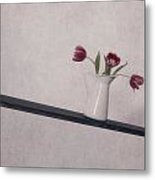 Unbalanced Flowers Metal Print