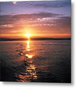 Unbelievable Sunrise Metal Print