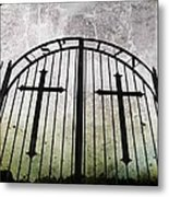 Unblessed Ground Metal Print