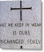 Unchanged Forever Metal Print
