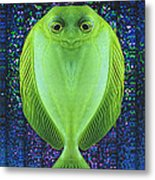 Uncle Fish Drops By For Dinner Metal Print