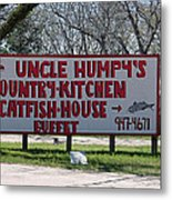 Uncle Humpy's  Metal Print