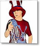 Uncle Sam Metal Print