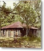 Uncle Toms Cabin Brookhaven Mississippi Metal Print by Michael Hoard