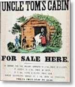 Uncle Tom's Cabin, C1860 Metal Print