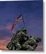 Uncommon Valor Was A Common Virtue Metal Print