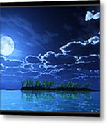 Under A Silvery Moon... Metal Print
