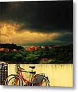 Under An Ominous Sky Metal Print