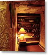 Under Ground Book Shelf Metal Print