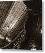 Under The Balcony Metal Print