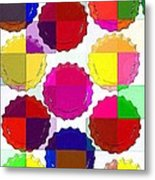 Under The Blanket Of Colors Metal Print