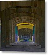 Under The Bridge   #1247 Metal Print
