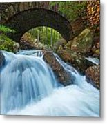 Under The Bridge Metal Print by Joseph Rossbach