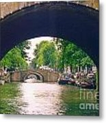 Under The Canals Metal Print