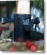 Under The Christmas Tree Metal Print