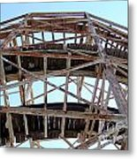 Under The Cyclone Metal Print