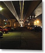 Under The Flyover  Metal Print