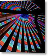 Under The Giant Wheel Metal Print by Mark Miller
