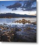 Under The Light Of The Full Moon Metal Print