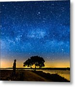 Under The Milky Way II Metal Print