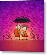 Under The Rain Metal Print by Gianfranco Weiss