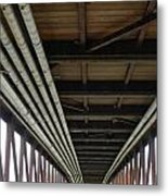 Under The Riverfront 5 Metal Print