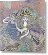 Under The Sea Metal Print by Amelia Carrie
