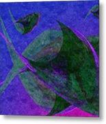 Under The Sea Painterly Metal Print