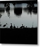 Under The Shadow Of The Day  Metal Print