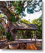 Under The Shadow Of The Tree. Eureka. Mauritius Metal Print