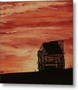 Under The Sunset Metal Print