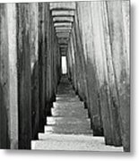 Under The The Pier Metal Print