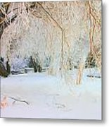 Under The Trees Metal Print