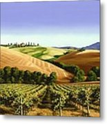Under The Tuscan Sky Metal Print by Michael Swanson