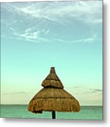 Under The Umbrella Metal Print
